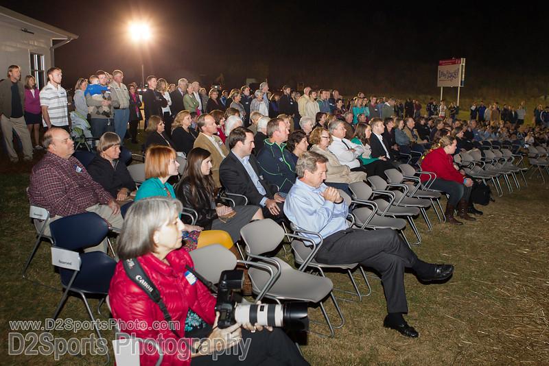 Halstead Overlook Dedication Wednesday, November 06, 2013 at BB&T Soccer Park Advance, North Carolina (file 191711_BV0H4100_1D4)