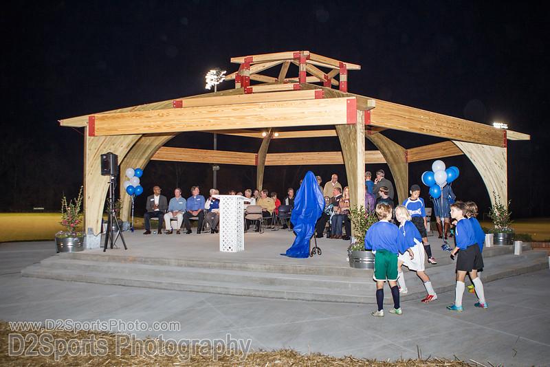 Halstead Overlook Dedication<br /> Wednesday, November 06, 2013 at BB&T Soccer Park<br /> Advance, North Carolina<br /> (file 190535_BV0H4086_1D4)
