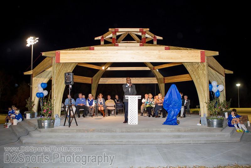 Halstead Overlook Dedication<br /> Wednesday, November 06, 2013 at BB&T Soccer Park<br /> Advance, North Carolina<br /> (file 190948_BV0H4091_1D4)