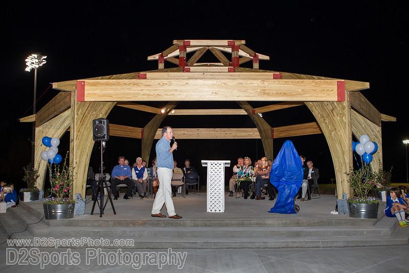 Halstead Overlook Dedication<br /> Wednesday, November 06, 2013 at BB&amp;T Soccer Park<br /> Advance, North Carolina<br /> (file 191550_BV0H4099_1D4)