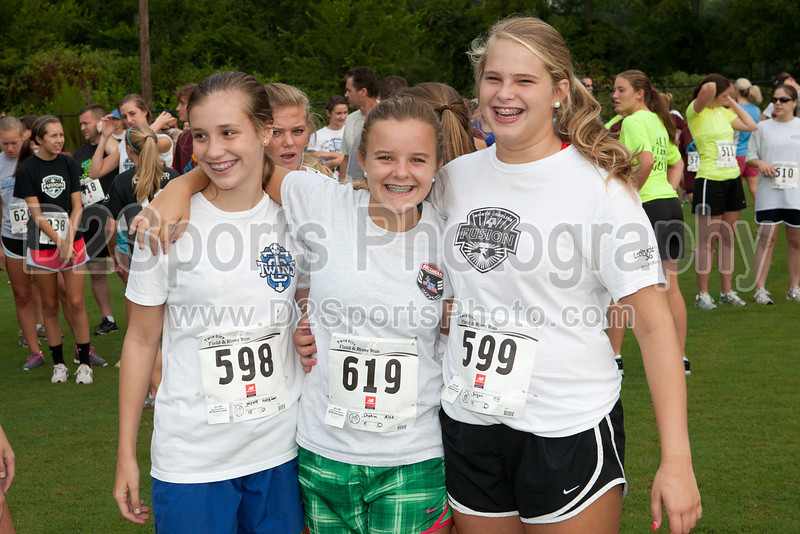 3rd Annual Twin City Field &amp; River Run<br /> 1 Mile Family Fun Obstacle Course and 5K Cross Country Race<br /> Saturday, August 11, 2012 at BB&amp;T Soccer Park<br /> Advance, North Carolina<br /> (file 072718_803Q7345_1D3)