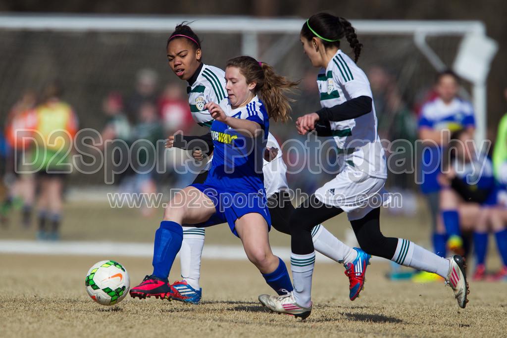 U14 FCCA Cabarrus Elite vs TCYSA Lady Twins Blue G