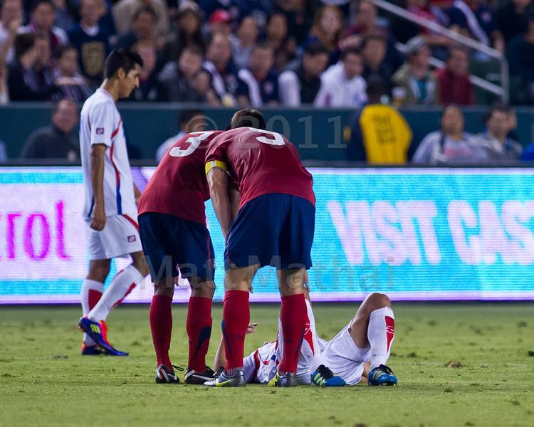 USA vs Costa Rica, Friendly, LA, 9/2/2011