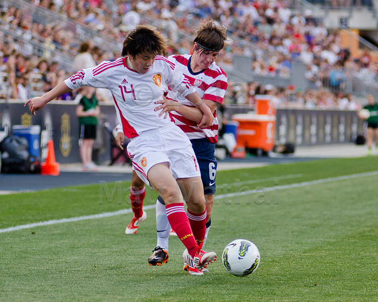 USWNT vs China, 20120527 PPL Park
