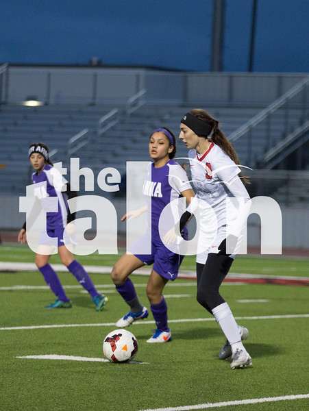 Lady Eagles face off against Tuesday at Eagle Stadium  in Argyle , Texas. (Photo by: Kirby Reyes)