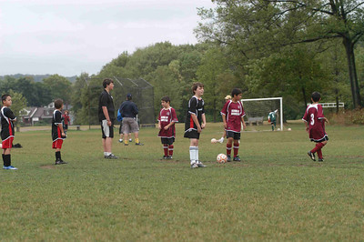 September 9, 2007  Game 15 Super Sunday Match against Maroon I guess we were still asleep ... we lost 4-0