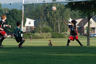 June 7, 2007 Nick's First Game ... First Goal of the Season on a Tip In