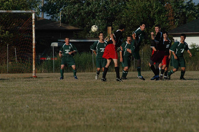 August 28, 2007  Game 14   Playoff Game #2 Loss 1-4 vs East Hamilton Green A missed header that would have given us 1-0 lead