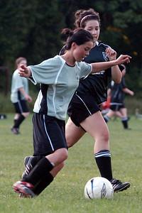 Carolyn defending
