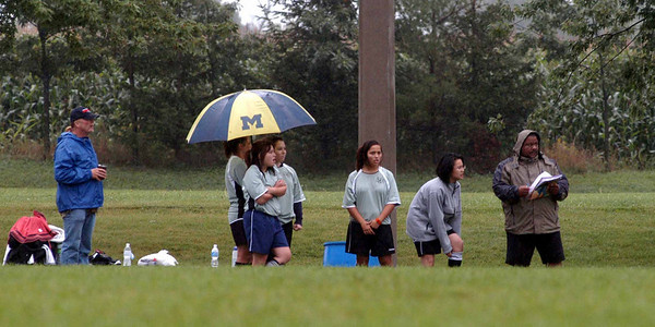 Our coaches weather the rain