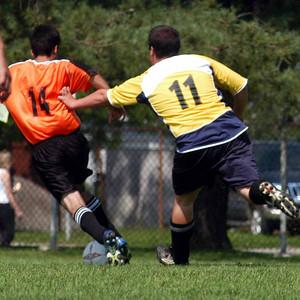 Riccardi shows his special denfensive tactics