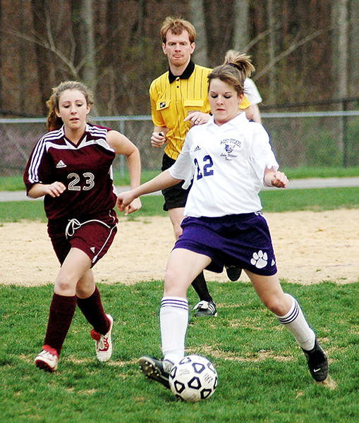 West Stokes Lady Soccer 2005