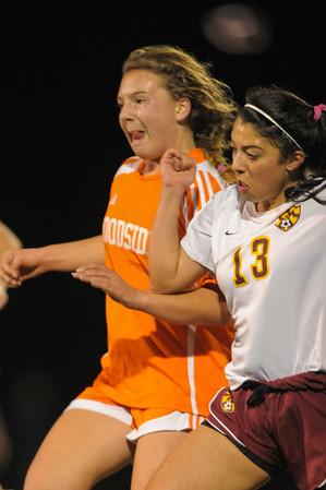 Woodside High JV Girls Soccer vs. M-A 2015-01-27