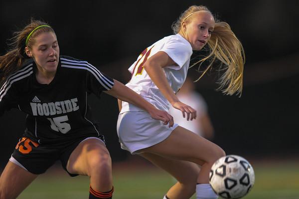 Woodside High Varsity  Girls Soccer vs. M-A 2015-01-27