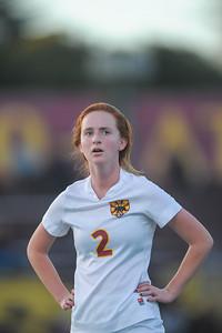 Menlo Atherton High School Girl's Varsity Soccer vs. Woodside High, January 27, 2015