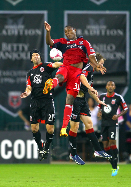 SOCCER: OCT 04 MLS - Fire at DC United