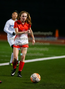 EBAL Ladies Varsity Soccer, Foothill HS vs Carondelet HS on 1-24-2017