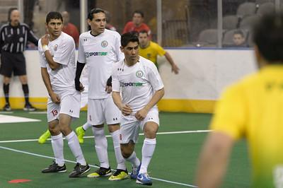 Arena Soccer World Cup Brazil vs Mexico @ Sears Centre 03.28.15 by Daniel Bartel