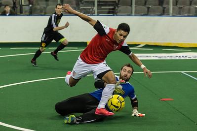 Detroit Waza Flo @ Chicago Mustangs Arena Soccer 12.14.14