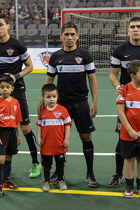 Harrisburg Heat @ Chicago Mustangs  January 16, 2016