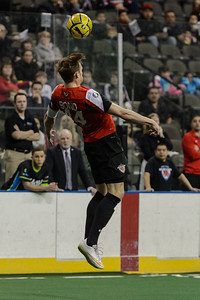 Syracuse Silver Knights @ Chicago Mustangs MASL Soccer @ Sears Centre 02.15.15 by Daniel Bartel