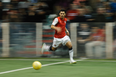 Cincinnati Saints @ Chicago Mustangs Arena Soccer 02.16.14