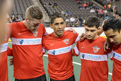 Ontario Fury @ Chicago Mustangs January 17, 2016