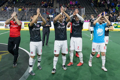Ontario Fury @ Chicago Mustangs Arena Soccer 02.26.17