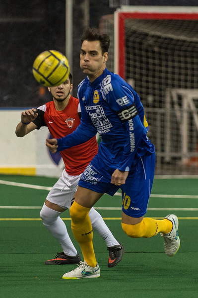 Rochester Lancers @ Chicago Mustangs Arena Soccer 01.04.15