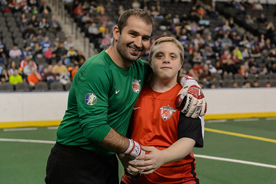 Syracuse Silver Knights @ Chicago Mustangs Arena Soccer 02.15.15