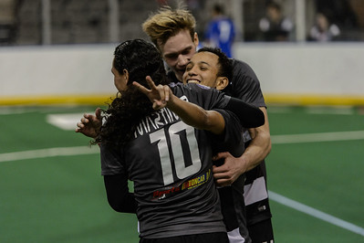 Tulsa Revolution @ Chicago Mustangs Arena Soccer 01.18.15
