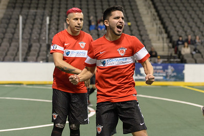 Waza Flo @ Chicago Mustangs Arena Soccer 12.19.15