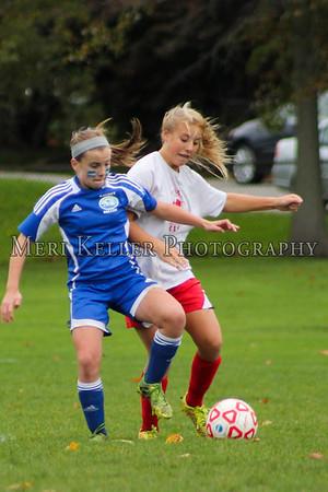 Gaudet Soccer Girls Season 2014