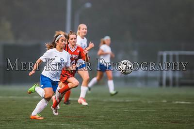 Gaudet vs Thompson Soccer Girls and 8th Grade Gaudet Night 10.14.17