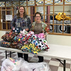 2017-04-02 GDD Susan Alger of Embry Rucker Shelter receives blankets from Janet K of CBE-