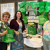 2017-04-02 GDD Rabbi receives Simple Green Bag from Shoreshim volunteers