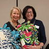 Guest Speakers from Optum Hospice and Palliative Care - with blankets_9241