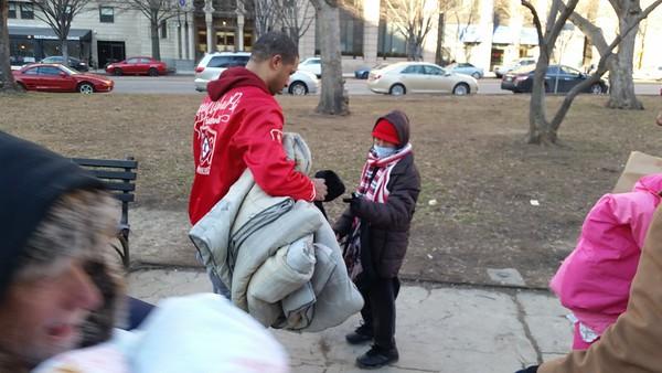 Help The Homeless Blanket Drive