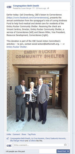Contributing for Embry Rucker Dental/Medical Care, April 2014