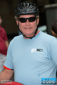 Buzz Morely. goNC! B-Cycle launch Charlotte, NC. July 12, 2012.