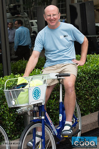 Harry Johnson. goNC! B-Cycle launch Charlotte, NC. July 12, 2012.