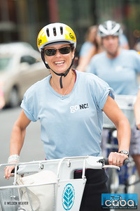 Ann Groninger. goNC! B-Cycle launch Charlotte, NC. July 12, 2012.