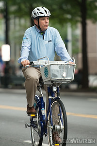 Ken Tippette, goNC! B-Cycle launch Charlotte, NC. July 12, 2012.