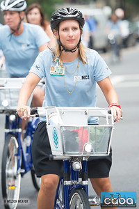 Megan Dean. goNC! B-Cycle launch Charlotte, NC. July 12, 2012.