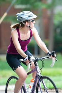 Myer's Park biker