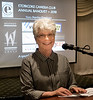 """Banquet Chair June W did a terrific job of organizing the event, which went like """"clockwork"""""""