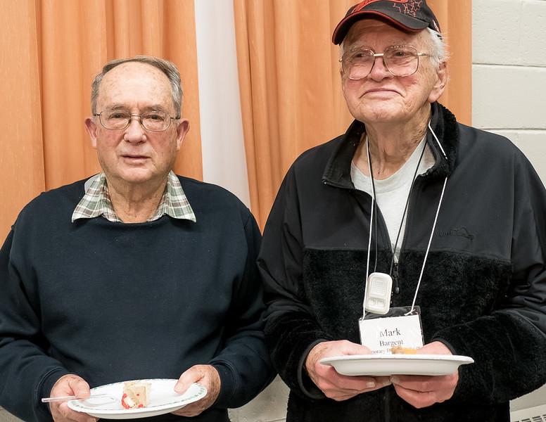 ECC Member Kent Wilson with Honorary Member Mark Bargent