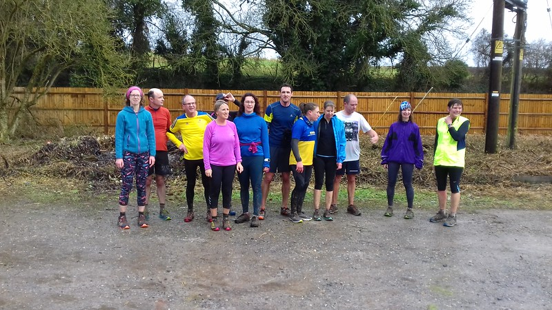 New Year's Day social run 2018
