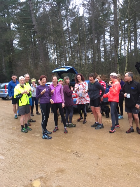23rd December social run from Deerleap