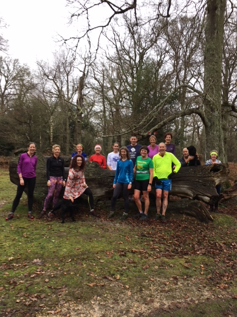23rd December social run from Deerleap